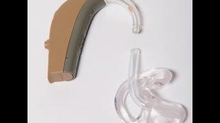 Re-tubing a hearing aid