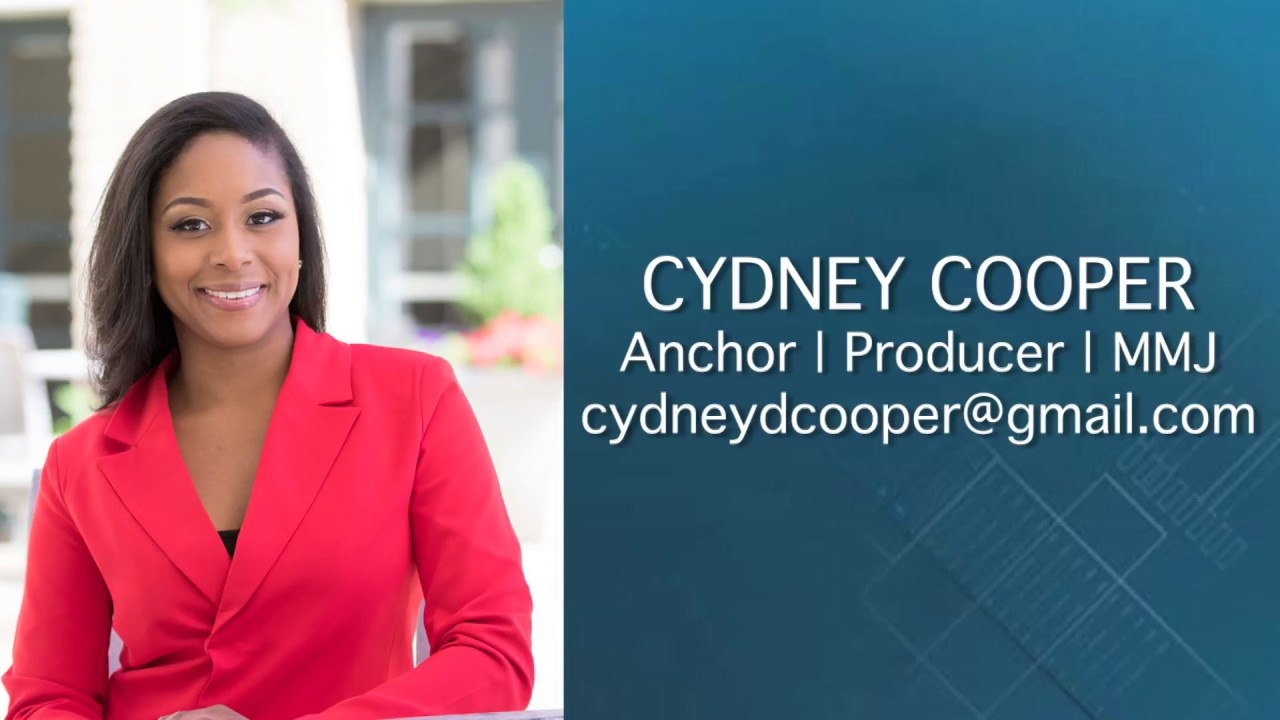 Cydney Cooper TV News Anchor & Reporter Demo Reel