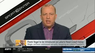 Tom Thibodeau on How Frank Vogel Should React To Magic's Comments on Rob Pelinka