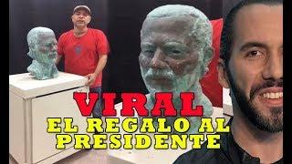 Video Viral ESTATUA DE NAYIB BUKELE