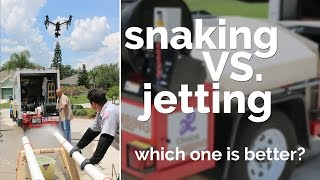 Snaking VS. Jetting Drains | Which One Is Better?