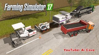 Farming Simulator 2017 Mods - Asphalt Production & Recycling Old Tires