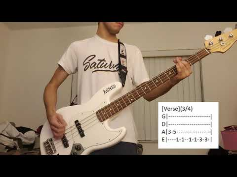Public Access T.V - Monaco (Bass Cover with tabs)