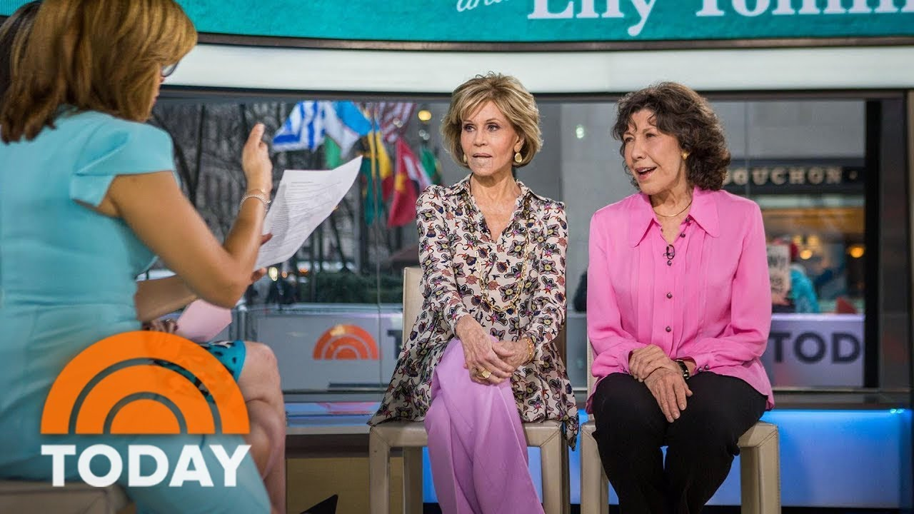 Jane Fonda And Lily Tomlin On Grace And Frankie Friendship Female Equality Today