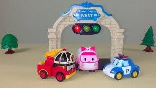 Робокар Поли и Правила Дорожного Движения для малышей: СВЕТОФОР