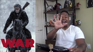 War for the Planet of the Apes MOVIE REVIEW!!!
