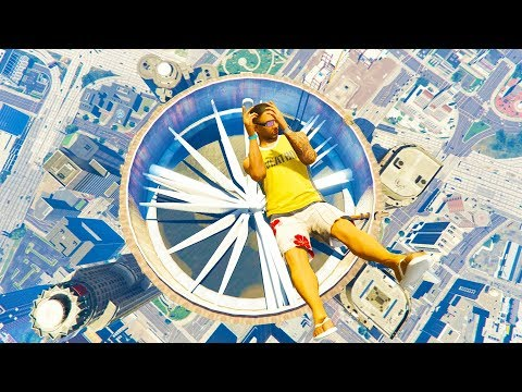 GTA 5 Jumping Fails #6 - Ragdolls Compilation