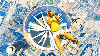 GTA 5 Jumping Fails #6 - Ragdolls Compilation