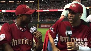 2011 All-Star Game: Mike O'Hara talks to David Price and Curtis Granderson