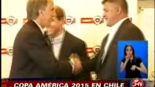Chile será sede de la Copa América 2015