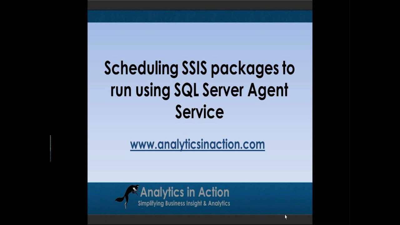 Scheduling ssis packages to run using sql server agent for Consul server vs agent