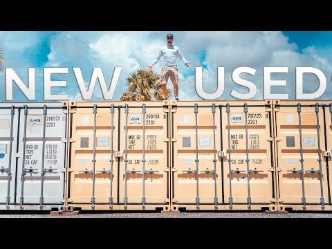 Top 5 Reasons to Buy a NEW vs USED Shipping Container