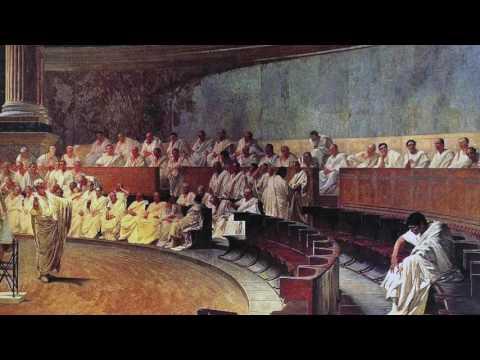 Cicero's First Catilinarian Oration
