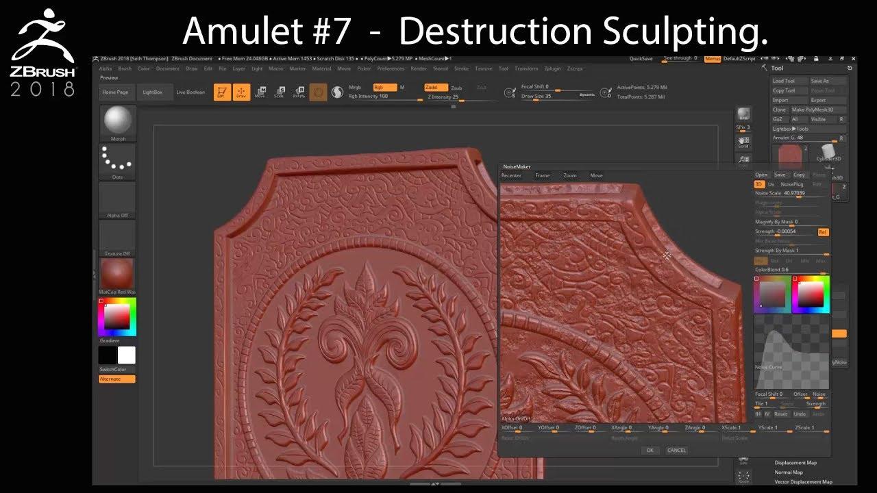 Amulet Chapter 7 - Destruction Sculpting in ZBrush
