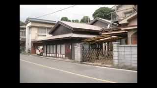 梅雨冷えの街 ① 門前町散策 街角の情景 福岡県直方市直方