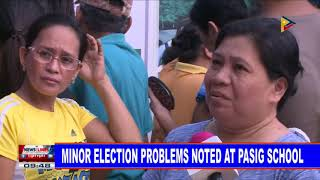 Minor election problems noted at Pasig school