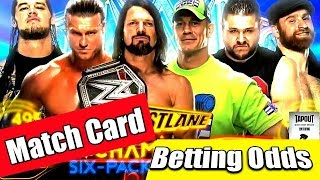 Fastlane 2018 full Highlights   WWE FASTLANE Betting odds  