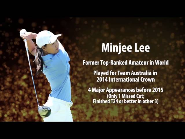 New Kids on the Block: Minjee Lee