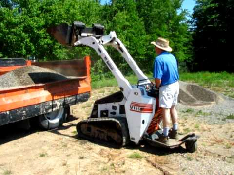 MT55 Bobcat Loading