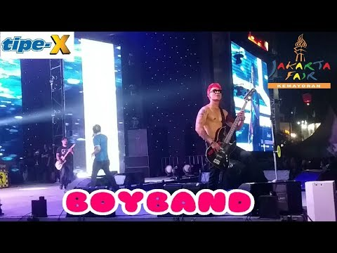 """Tipe X _ BOYBAND """" Jakarta Fair Kemayoran 2017 PRJ"""
