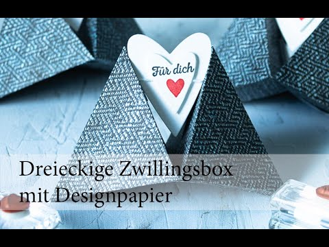 Zwillings-Dreiecks-Box
