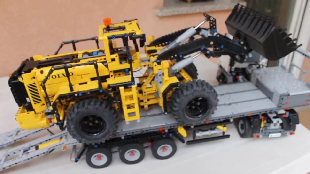 rc moc lego technic 42043 model b mercedes arocs truck. Black Bedroom Furniture Sets. Home Design Ideas