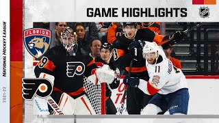 Panthers @ Flyers 10/23/21 | NHL Highlights