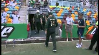 National Anthem by Haseeb Rizvi, Virgilio Marino & Michael Lampard @ Cricket Australia