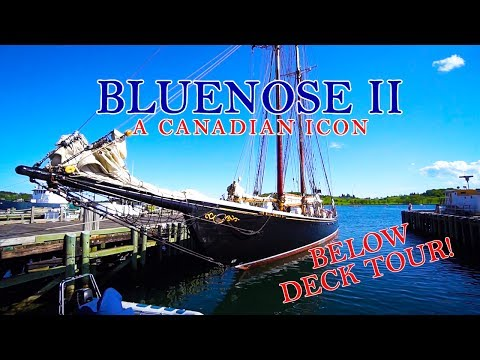 BLUENOSE II - Rare Below Deck Tour!