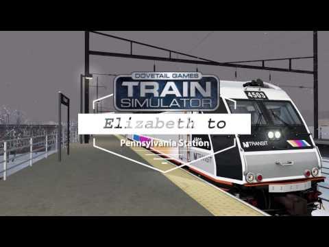 Elizabeth to New York Pennsylvania Station   TS2017