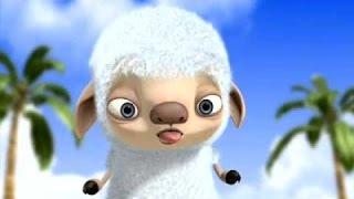 Sheep in the island cartoon Full HD