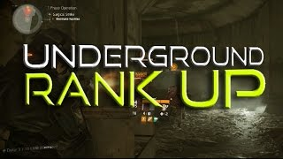Underground Rank Up FAST - The Division