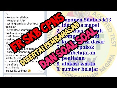 Prediksi Soal Seleksi Bidang Keguruan (GURU KELAS & GURU MAPEL) - PEGAGOGIK (Part.5) from YouTube · Duration:  10 minutes 47 seconds