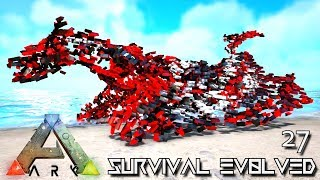 ARK: SURVIVAL EVOLVED - PERFECT EVO WYVERN UNKNOWN & INFERNAL SABER !!! E27 (MOD ARK ETERNAL)