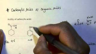 chem 225 carboxylic acid 2 acidity
