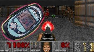 запускаем DOOM и Half-Life на N-GAGE QD (c2doom)