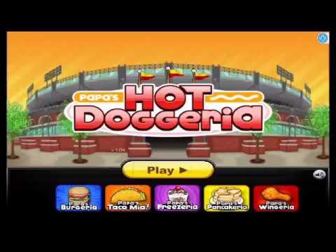 Papa's Hot Doggeria - Gameplay Walkthrough Rank 2 (iOS,Android)