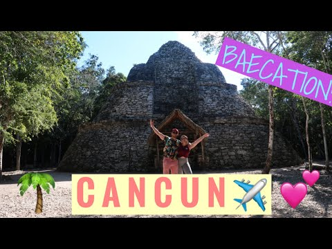 WHAT WE DID IN CANCUN! BEST BAECATION EVER! ** NIGHTLIFE, BEACH, CLIMBED COBA!
