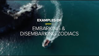 Examples of Embarking & Disembarking Zodiacs | Lindblad Expeditions-National Geographic