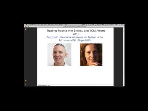 Webinar Treating Trauma with Shiatsu and TCM Greek and English