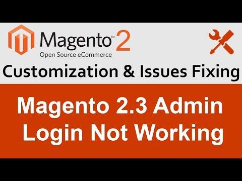Magento 2.3 Admin Login not Working thumbnail