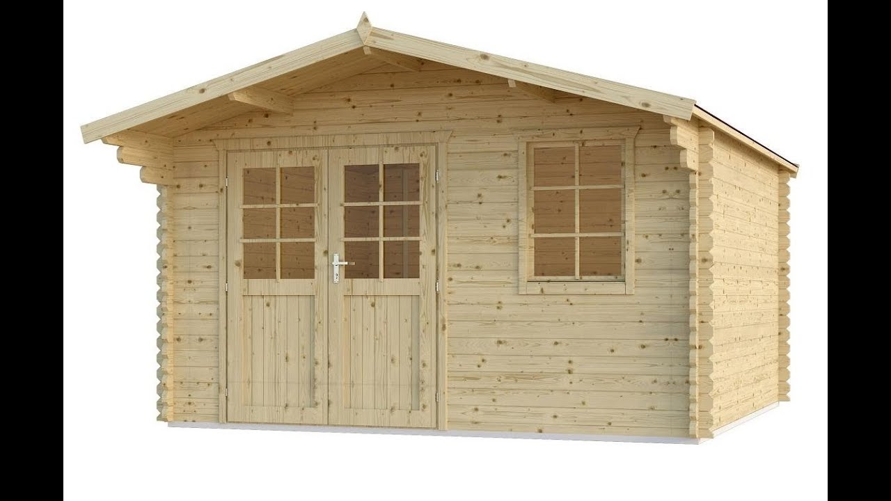 Gartenhaus Aus Holz Zum Selber Bauen Unser Modell Finn Art Norwegen 15
