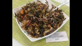 Салат из морской капусты, моркови и сельди: рецепт от Foodman.club
