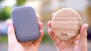 So geht Wireless Charging richtig: Woodpuck & QiStone+ REVIEW! - felixba