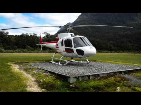 Helicopter Flight Queenstown  Milford Sound  Tukoko Glacier  YouTube