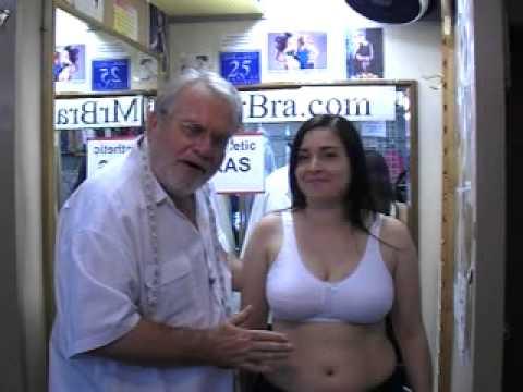 Mastectomy Bra Fitting Guide | Video Tutorial By MrBra.com (Part 6)