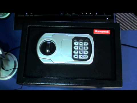 WARNING - Honeywell 5101 Security Safe