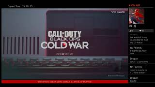 Call of duty black ops cold war alpha now!!!!