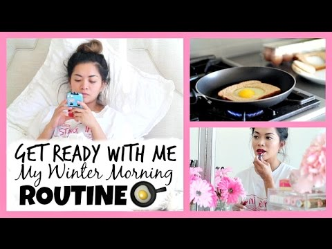 Get Ready With Me! My Winter Morning Routine! ♡