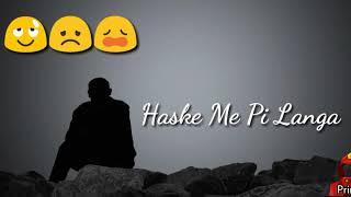 Jeeya Te Jeeya •Heart Touching Song •New Sad Whatsapp Status
